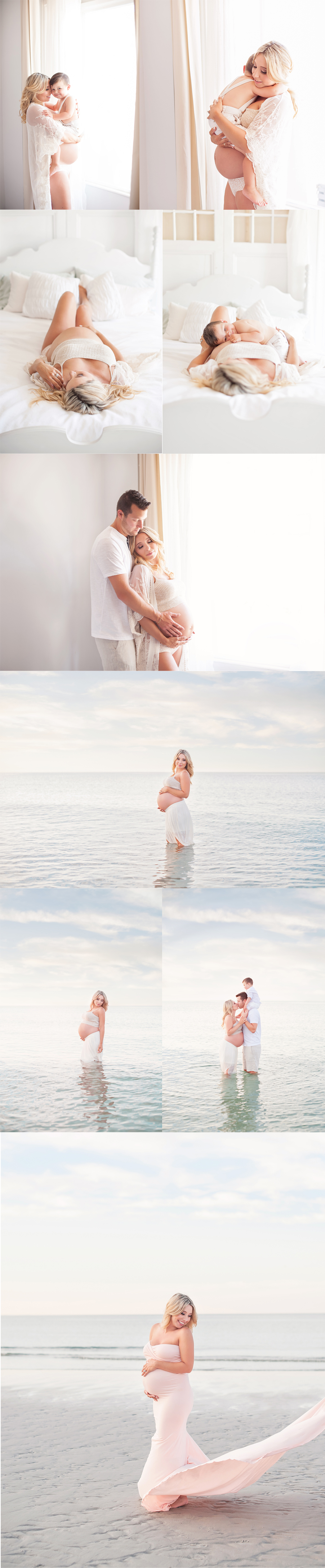 massachusetts studio and beach maternity photography